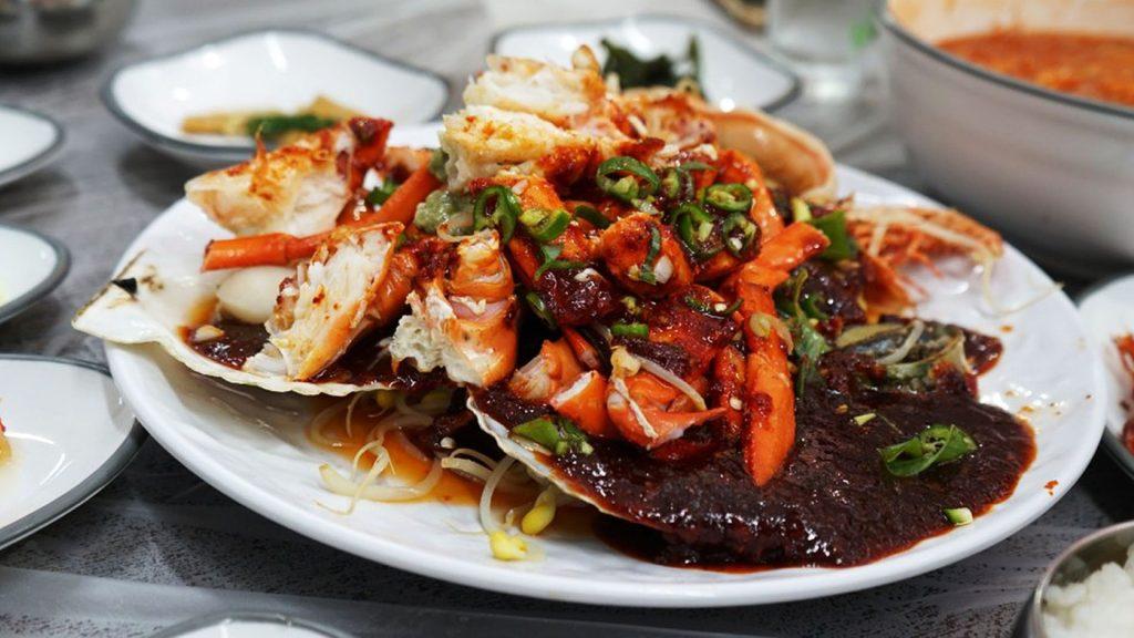 Cuisiner le crabe